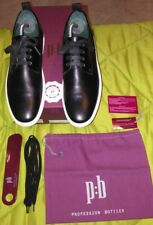 Scarpe Uomo Sneakers PROFESSION:BOTTIER 41 (27,8cm) 100% Vera Pelle Luxury Shoes