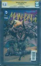 Batman Detective Comics 23.4 CGC SS 9.8 3-D Lenticular Fabok Variant Man-Bat 1
