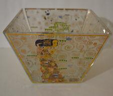 Goebel Gustav Klimt Glass Bowl Artist Orbis