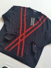 Tommy Hilfiger Pull Femmes 100% Laine Nuit SKY Taille L/XL Neuf