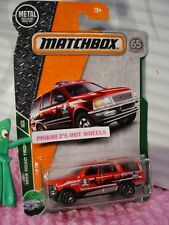 2018 MATCHBOX #110 FORD EXPEDITION☆red☆MBX ROAD TRIP☆65TH ANNIVERSARY case c/d