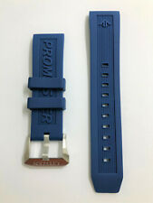Original Citizen Promaster Aqualand 22mm BN2038-01L Blue Rubber Watch Band Strap