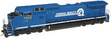 Blue HO Scale Model Trains