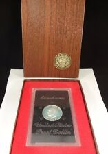 """1972-S """"BROWN IKE"""" PROOF EISENHOWER SILVER DOLLAR WITH U.S. MINT CASE FREE SHIP"""