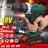 48V Electric Power Cordless Drill Woodworking Tool Hammer