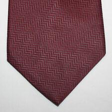 NEW Nautica Silk Neck Tie Burgundy with Plain Pattern 392