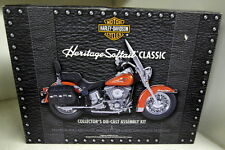 Franklin Mint 1/10 Scale Harley Davidson Heritage Softail Classic Diecast Kit