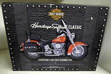 Franklin Mint HARLEY DAVIDSON Legado Softail escala 1/10 Diecast Clásico Kit