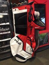Ping Hoofer 14 Stand Bag Scarlet, White, Black - Shop Worn - Make Offer