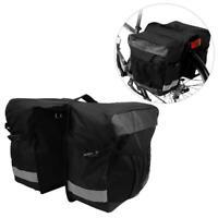 SAHOO Bicycle Rear Rack Tail Seat Trunk Pannier Bag Bike Double Storage Pouch