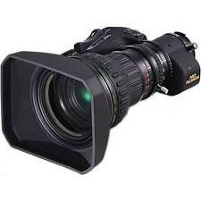 """NEW Fujinon ZA22X7.6BERM-M6 2/3"""" Lens w/ Servo Zoom & 2x Ext **Finance w/ AC**"""