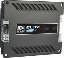 Banda 4000.4 Elite 4000.4 Four Channel 1000 Watts Max @ 2 Ohm Car Audio
