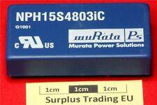 Murata NPH15S4803IC Isolated DC/DC converter 3.4v 4.4A