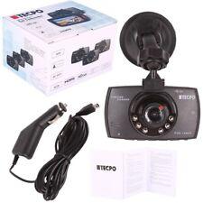 TECPO DASHCAM FULL HD 2.7 TFT Autokamera mit Nachtsicht Funktion Carcam 1080PX