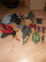 VINTAGE 1982-1988 Hasbro GI JOE Vehicles & Cannon Lot