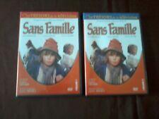 SANS FAMILLE - Les tresors de la television - vol 1 + 2 en DVD - TTBE