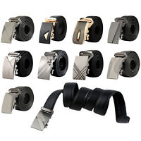 Para hombre de cuero Hebilla automatica cinturones de negocios de lujo 6 M6S7