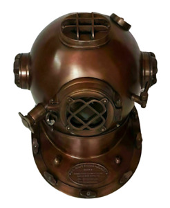 Nautical Vintage Finish Antique Look Stylish Home Decor Diving Helmet Replica