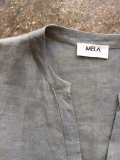 Mela Purdie Linen Dress Size S EUC!