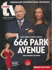 TV WEEKLY 2012 SEPT. 666 PARK AVENUE (FAIR/GOOD COND)