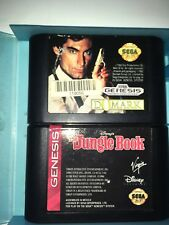 Sega Genesis Domark And The Jungle Book Games