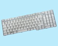 Original Toshiba DE Tastatur P200 P205 X200 X205 P200-16J L55 Series -Silber-