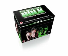 Incredible Hulk TV Series 1-5 Collection [24 DVD] Complete Season 1 2 3 5 New