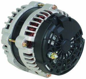 300 Amp High Output NEW Alternator 8302N-300A 2Pin Chevy Avalanche Hummer H3