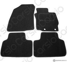 Mitsubishi ASX 2010+ Onwards Tailored Black Car Floor Mats Carpet 4pc W/Clips