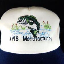 KWS Manufacturing Snapback Hat Cap Conveyors Silos Elevators OSFA Vtg