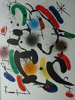 Jean Miro - Lithografie VI, 33,5 cm x 25 cm
