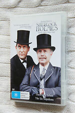 Sherlock Holmes:The Priory School+ The Six Napoleons (DVD) Like new, free post