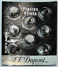S.T. Dupont Black Lighter Flints Pack of 8 for Ligne 1, Ligne 2 & Gatsby, # 600