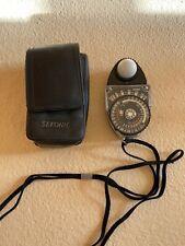 Sekonic Studio Deluxe II L-398M Analog Light Meter w/ Carrying Case