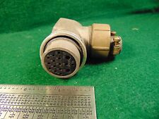 (1) Cannon SK-C16-23-3/4 CONNECTOR FOR COLLINS TCS Transmitter &180L-3 NOS