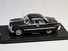 MTH RAIL KING 1:43 DIE-CAST 49 FORD 2 DOOR COUPE W FENDER SKIRTS auto 30-50109