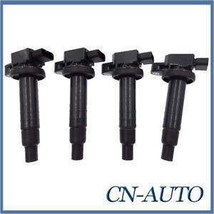 4Pcs Ignition Coils For Toyota Echo Prius Yaris 1.3L 1.5L 1NZ-FE 2NZ-FE IGC048