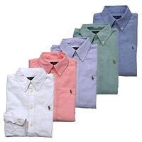 Ralph Lauren Women Custom Fit Oxford Button Down Long Sleeve Shirt New Nwt Rl