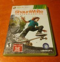 Shaun White Skateboarding Microsoft Xbox 360 Ubisoft