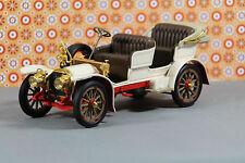 MERCEDES SIMPLEX 1904 FRANKLIN MINT Modellauto Oldtimer  1:24 Cremefarben