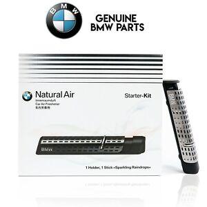 BMW Genuine Natural Air Starter Kit Car Freshener Holder 83122285673 + 1 STICK