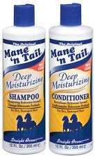 Mane 'n Tail Shampoo Hidratante Profundo & Acondicionador Twin Pack 12 OZ
