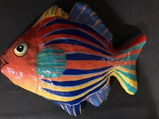 (1) Wall Tropical Salt Water Deep Sea Fish Display 12Inch