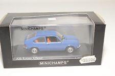 . MINICHAMPS ALFA ROMEO ALFASUD SUD 1972 BLUE MINT BOXED