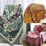 130x180cm Cotton Bohemian Sofa Bed Throw Blanket Chair Bedspread Settee Cover