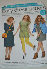 sewing pattern dress or tunic easy