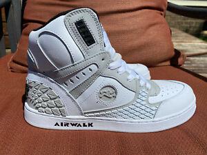 Airwalk Prototype Mens White Skate Shoes sz 9