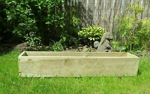 Quality WOODEN FLOWER PLANTER, Window Box, Garden Flower Planter, FREE SHIPPING