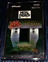 Metal Church – The Dark. VG Cassette Tape Plays Well