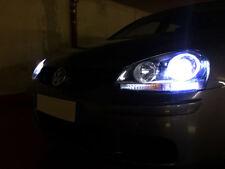 Pair D2S Xenon Hid 35W Bulbs Ice Blue 8000K Low Beam Headlight VW Golf MK5 03-08